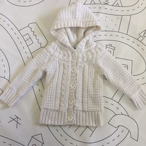 GAP toddler 2yrs sweater coat.